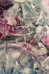Abstrakt lila A3