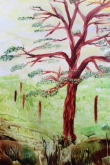 Sommarträd A4