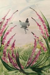 Ängel i blomman A5
