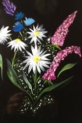 Blommor natt A3