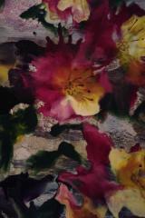 Blommor värmepistol