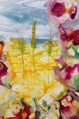 Blommor värmepistol A4